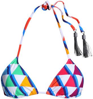 Emma Pake Esta Printed Triangle Bikini Top