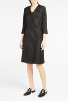 Paul & Joe Delidelo Pinstripe Double-Breasted Dress