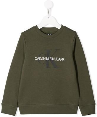 Calvin Klein Kids Printed Logo Sweatshirt