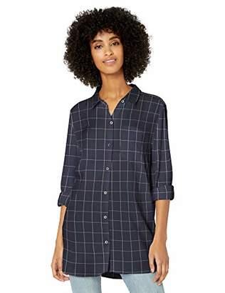 Goodthreads Modal Twill Long-sleeve Button-front ShirtXS