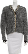 Altuzarra Embellished Open Knit Cardigan