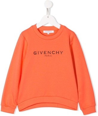 Givenchy Kids Long Sleeve Logo Sweater