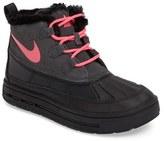 Nike Girl's Woodside Faux Fur Chukka 2 Waterproof Boot