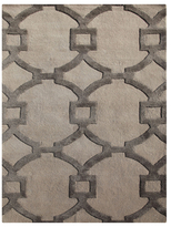 Jaipur Rugs City Hand-Tufted Wool Trellis, Chain and Tile Pattern Rug