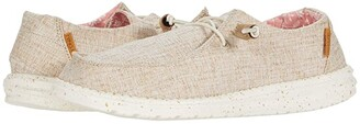 Hey Dude Wendy Chambray (White Nut) Women's Shoes