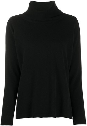 Allude Turtle Neck Cashmere Sweater