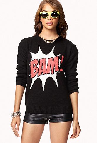 Forever 21 Bam! Sweater