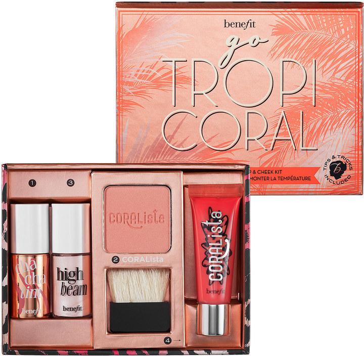 Benefit Go TropiCORAL Lip & Cheek Kit