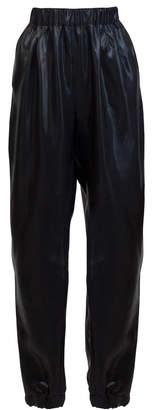 Lake Studio Pleated Crepe De Chine Harem Pants