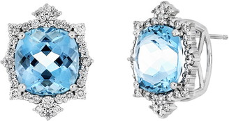 Bony Levy Aquamarine Stud Earrings