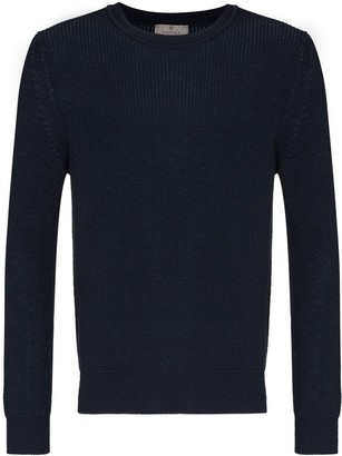 Canali Wool And Cotton-Blend Jumper