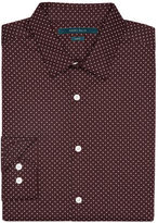 Perry Ellis Slim Fit Circle Dot Print Shirt