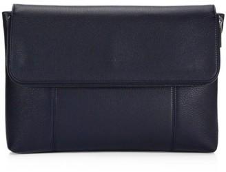 Giorgio Armani Leather Flap Portfolio