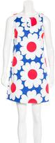 Tibi Floral Print Shift Dress