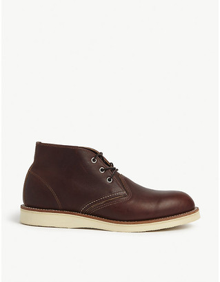 Red Wing Shoes 3141 leather Chukka boots