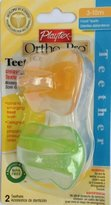 Playtex Baby Ortho-Pro Teether 3-10M: Orange-Green