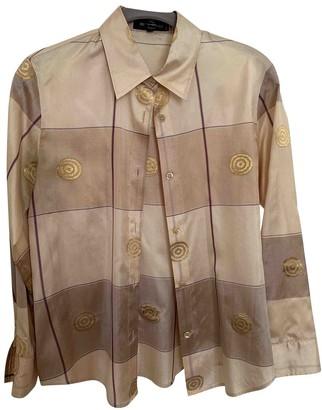 Etro Beige Silk Top for Women Vintage