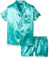 Bottoms Out Women's Classic Satin Short Pajama Set