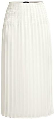 Lafayette 148 New York Kessler Pleated Skirt