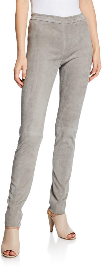 052b6355fd4cac Stretch Leather Pants - ShopStyle