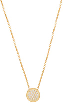 Natalie B Jewelry Ottoman Small Disc Necklace