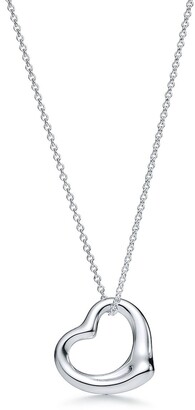 Tiffany & Co. Elsa Peretti Open Heart pendant in sterling silver More sizes available
