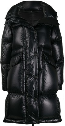 MONCLER GRENOBLE Detachable-Sleeve Quilted Coat