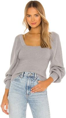 Line & Dot Kimberly Square Neck Sweater
