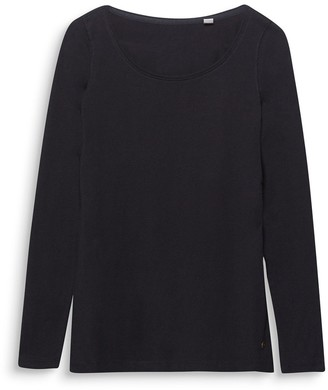 Esprit Crew Neck Long-Sleeved T-Shirt