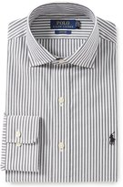 Polo Ralph Lauren Easy Care Classic-Fit Spread-Collar Striped Dress Shirt