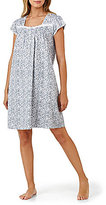 Eileen West Ditsy Floral Jersey Nightgown