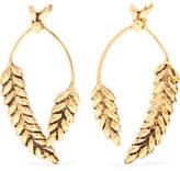 Aurelie Bidermann Wheat Gold-plated Earrings
