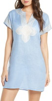 Tory Burch Embroidered Cover-Up Tunic