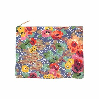 General Knot & Co Vintage Indian Head Floral Large Laptop Sleeve & Carryall