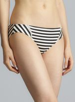 Juicy Couture Lace Detail Striped Hipster Bottom
