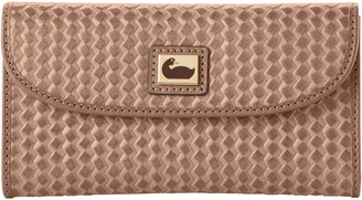 Dooney & Bourke Camden Woven Continental Clutch