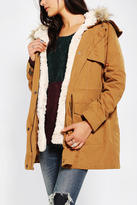 Urban Outfitters Members Only Faux Fur-Lined Parka