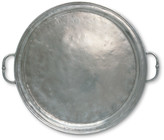 Match Large Round Tray with Handles