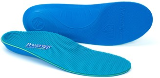 Powerstep Pinnacle Breeze Shoe Insoles Shock-Absorbing Arch Support and Cushioning for Plantar Fasciitis Arch and Heel Pain Flat Feet and Overpronation