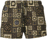 Versace Signature 17 print swim shorts