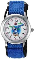 Marvel Boy's 'Emoji' Quartz Stainless Steel and Nylon Casual Watch
