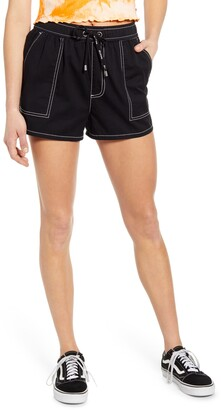 Dickies Contrast Stitch Pull On Shorts