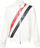 Thom Browne striped bomber jacket