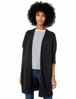 Goodthreads Mid-gauge Stretch Cocoon Sweater Charcoal Heather