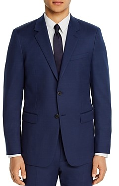 Theory Chambers Micro-Birdseye Slim Fit Suit Jacket