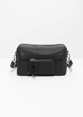 And other stories Medium Double Zip Shoulder Bag
