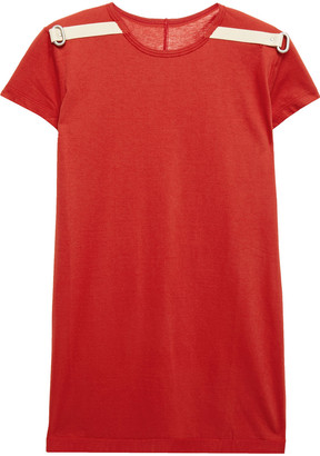 Rick Owens Ring-embellished C Cotton-jersey T-shirt