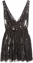 Kate Moss Rosamosario The Mini Chantilly lace chemise