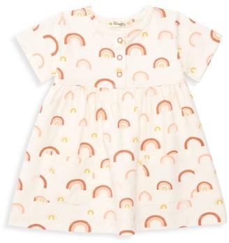 The Bonnie Mob Baby Girl's Lazy Hazy Summer Days Short-Sleeve Flare Dress