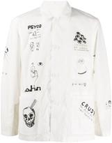 John Undercover Johnundercover JohnUNDERCOVER JUX42031 WHITE Nylon/Polyester